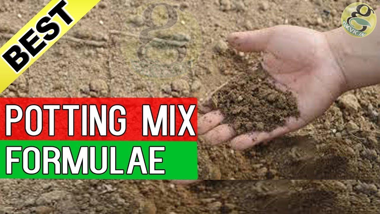 Potting Mix - Best Soil for Plants - Gardening | Best Seed starting ...