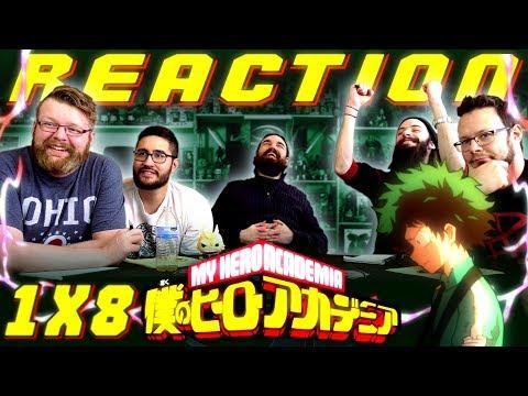 My Hero Academia [English Dub] 1x8 REACTION!!