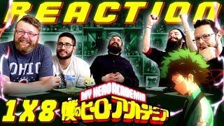 "My Hero Academia [English Dub] 1x8 REACTION!! ""Bakugo's Start Line"""