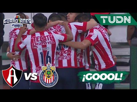¡Gol de taquito! Zaldívar se luce   Atlas 0-1 Chivas   Torneo Guard1anes 2021 MX J16   TUDN