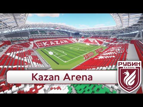 Minecraft - STADIUM - Kazan Arena (Rubin Kazan/World Cup 2018) + DOWNLOAD on