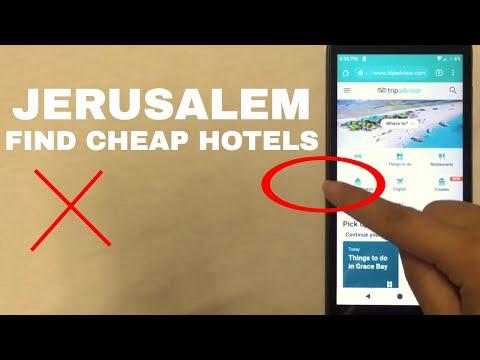 🔴 Cheap Hotels In Jerusalem 🔴