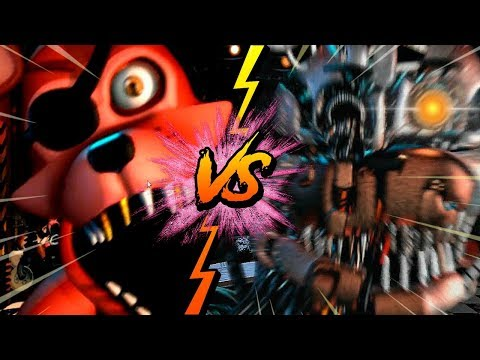 ROCKSTAR FOXY VS MOLTEN FREDDY - La Liga de FNAF | FIVE NIGHTS AT FREDDY'S ULTIMATE CUSTOM NIGHT J2