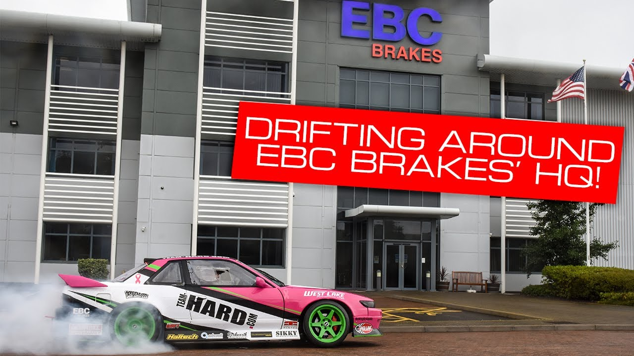 Drifter Max Cotton Visits EBC Brakes' HQ