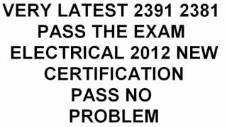 Inspection & Testing Bs 2391 17 Edition Past Papers Bs2360 Electrical Certificate 2012