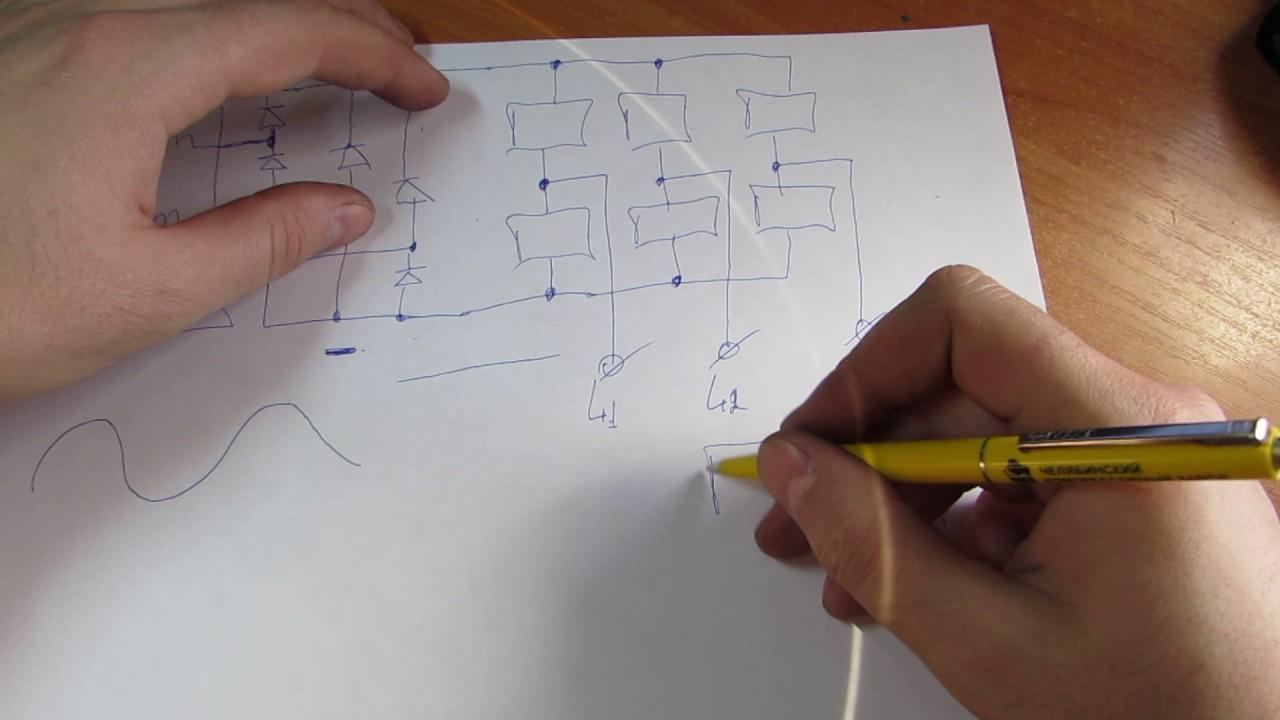 Принцип работы частотного преобразователя