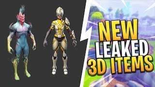 *NEW* LEAKED 3D MODELS FOR SKINS AND MORE! COMING IN FUTURE UPDATES! - Fortnite: Battle Royale