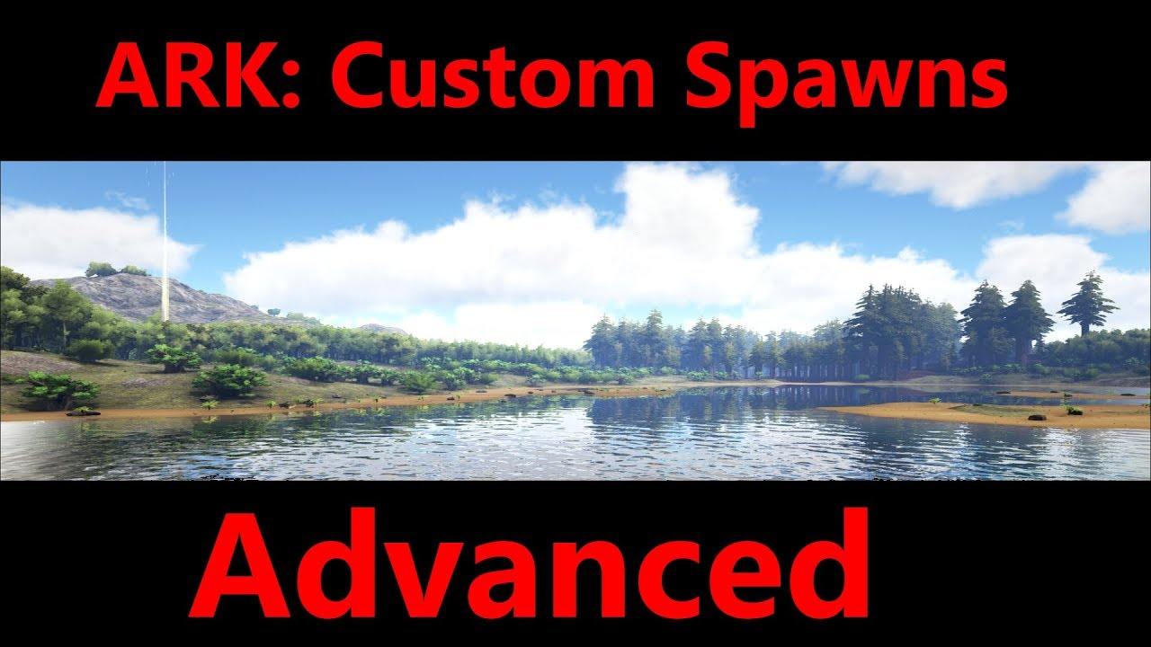 ARK: How to edit spawns (Advanced)