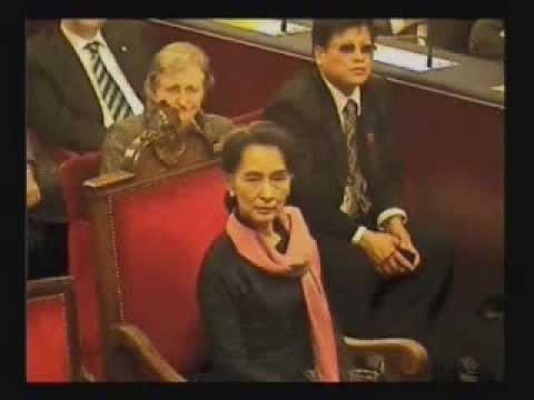 Consegna della Cittadinanza Onoraria ad Aung San Suu Kyi