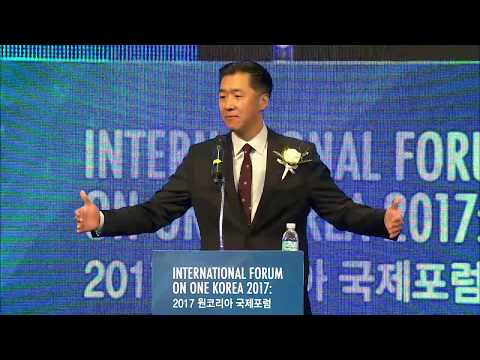 Dr. Hyun Jin Preston Moon | International Forum on One Korea 2017 | Seoul, Korea