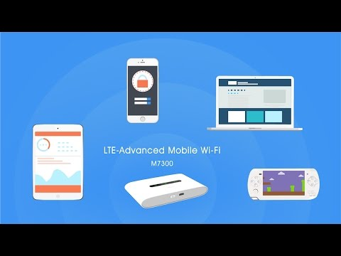 TP-Link LTE-Advanced Mobile Wi-Fi (M7300)