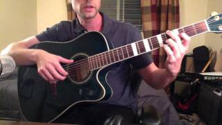 "How to Play ""Crosses"" by Jose Gonzalez - Guitar Lesson by Brett Sanders (GuitarwithBrett)"