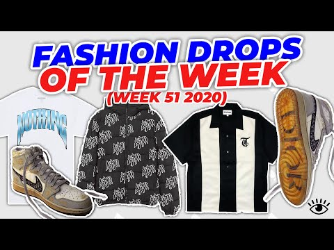 FASHION DROPS OF THE WEEK 51 (28/12/2020) PHILLLLLTY, HYPLAND, 1340 & MORE!