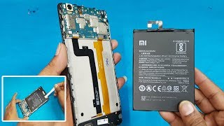 Xiaomi Mi Max 2 Battery Replacement || How to Remove Mi Max 2 Back Panel and Battery