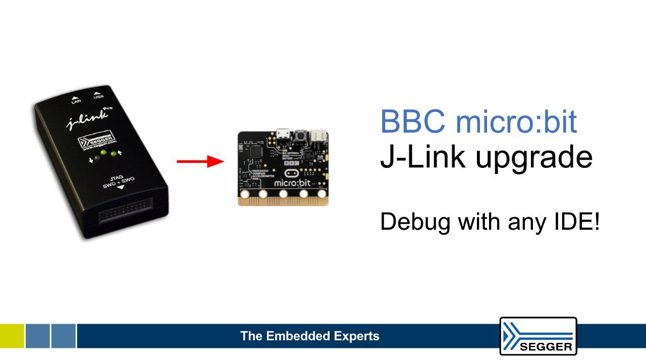 BBC microbit J-Link upgrade