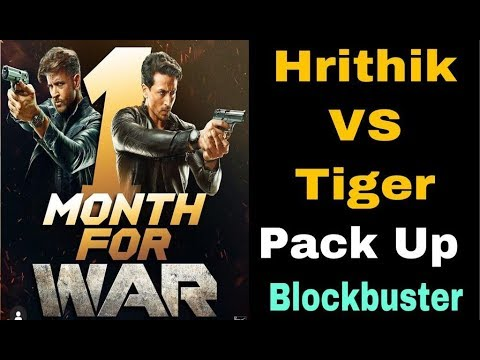 War Movie | Hrithik Roshan & Tiger Shroff | Movie Pack Up, Vaani Kapoor