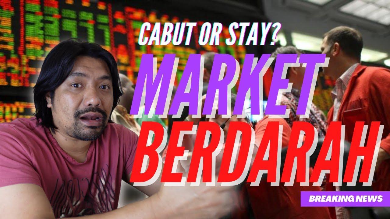 Market Berdarah! Korang pelabur saham global? Wahed Invest? Raiz? Stashaway? Tengok Video ini!