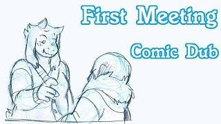 First Meeting [Deltarune Comic Dub]