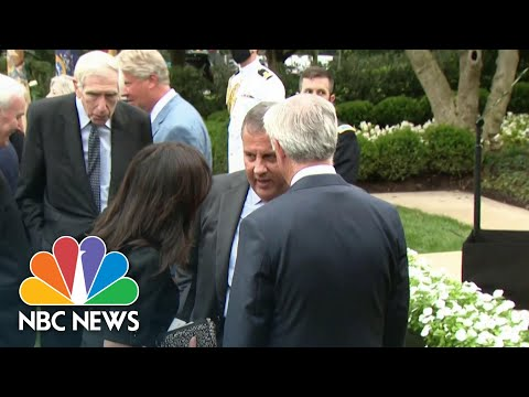 Gov. Chris Christie Tests Positive For Covid Day After Trump Diagnosis Announced | NBC News