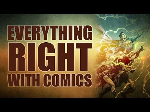 Everything Right With Comics: DC Rebirth