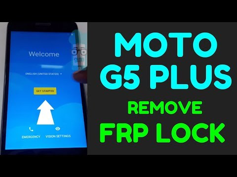 Moto G5 Plus FRP Bypass Android 7.0 Without Box