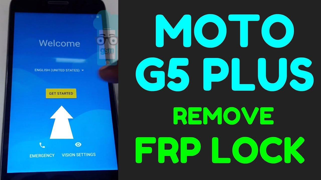 Moto G5 Plus FRP Bypass Android 7 0 without box