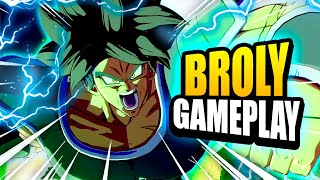 EVERYTHING JUST WORKS! First Look at Broly in DBFZ