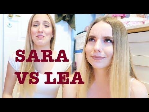 Morning Routine Lea VS Sara