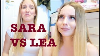 Morning Routine Lea VS Sara
