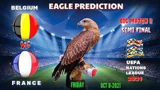 Belgium vs France Uefa Nations League 2021 Eagle Prediction