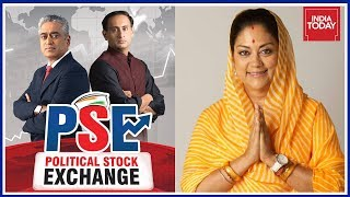 Vasundhara Raje Vs Ashok Gehlot For Rajasthan's Next CM? | Political Stock Exchange