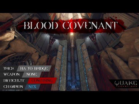 Quake Champions : Tricks School | BLOOD COVENANT: NYX - HA to Bridge