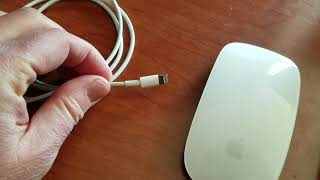 How to Charge Apple Magic Mouse 2