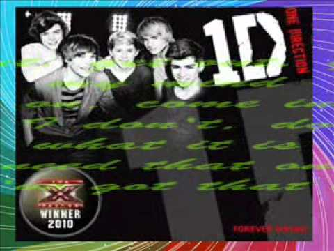 One Direction -  One Thing lyrics + Download Link