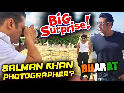 Here's Why Salman Khan Has Turned A Photographer On The Sets Of BHARAT
