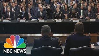 Watch Live: FBI, CIA Directors Testify On 'Worldwide Threats' | NBC News