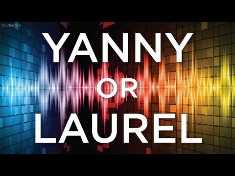 Do you hear 'Yanny' or 'Laurel'?