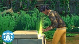 WE FOUND A TREASURE CHEST! // The Sims 4: Jungle Adventure