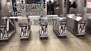 NYC | Commuting on weekends