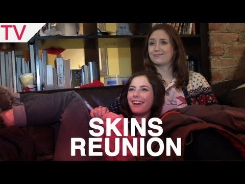 Skins stars Kaya Scodelario and Lily Loveless on reunion special 'Skins Fire'