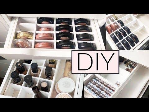 neue make up aufbewahrung doovi. Black Bedroom Furniture Sets. Home Design Ideas