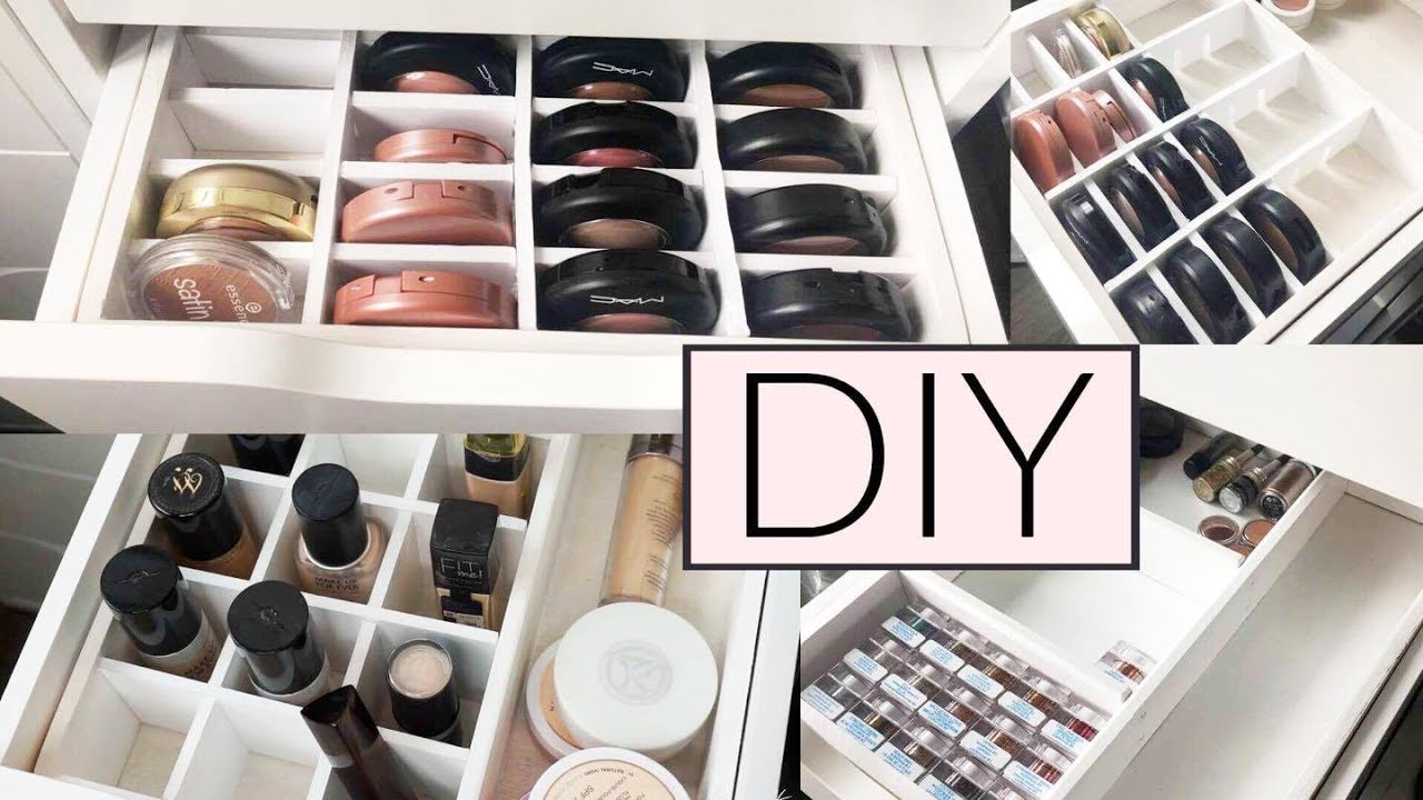 Ikea Kommode Plastik Diy Perfekte Ikea Alex Make Up Organisation Aufbewahrung