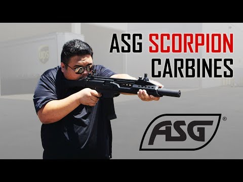 ASG Scorpion EVO Carbine Overview! - Airsoft GI