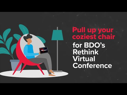 Rethink Virtual Conference: Time to transform business digitally and strategically | BDO Canada