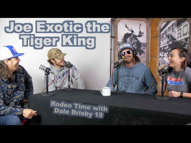The Bull King talks the Tiger King Joe Exotic - Rodeo Time podcast 19
