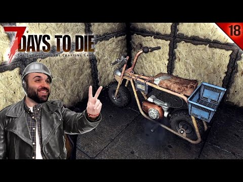 7 DAYS TO DIE #18 | HORDA Y MINI-MOTO LISTA! | Gameplay Español