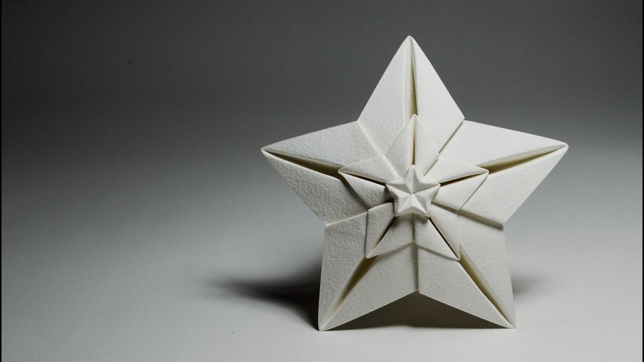 origami shining star - ng u00f4i sao  hoang tien quyet