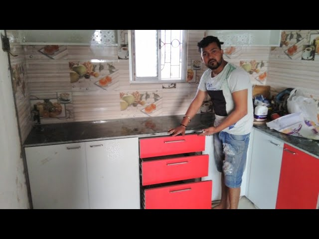 Modular Kitchen Design For Middle Class Family Latest Modular Kitchen Design In Low Budget 2019 Youtube
