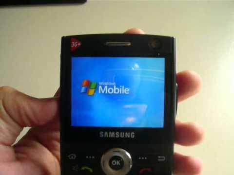 Samsung SGH-i600 - Démonstration, prise en main et test