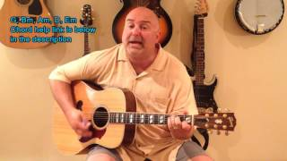How to Play Operator - Jim Croce (cover) Medium 6 Chord Tune